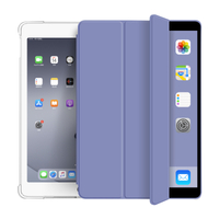 2020 New Design Smart Soft Transparent Tablet Case Cover For iPad 10.2 2019 2020