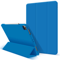 12.9 2020 Case Magnetic Tri-fold Tablet Case with Pencil Holder