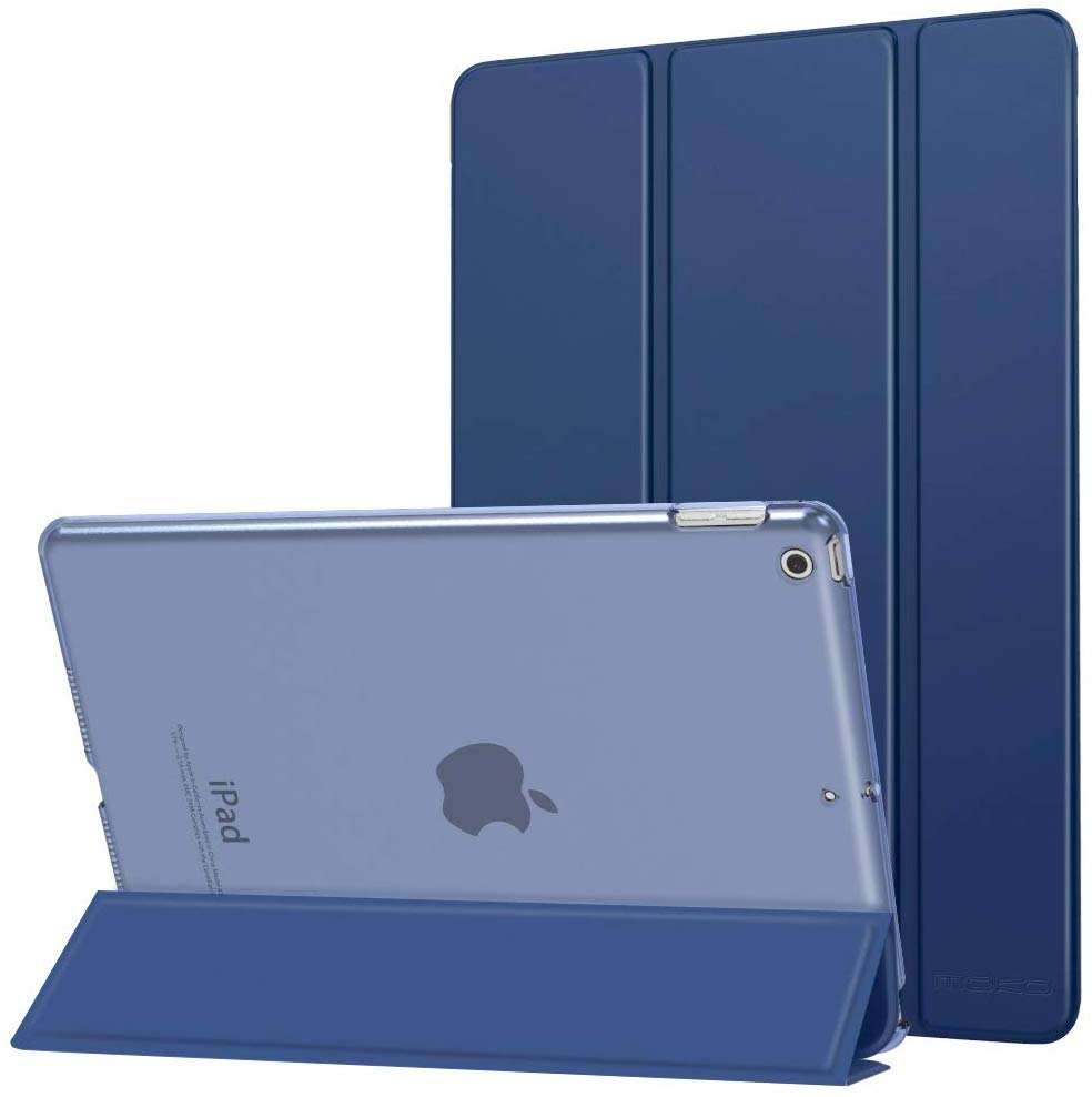 Trifold Hard Clear Back Ultra Thin Case Cover For iPad 9.7 2017 2018