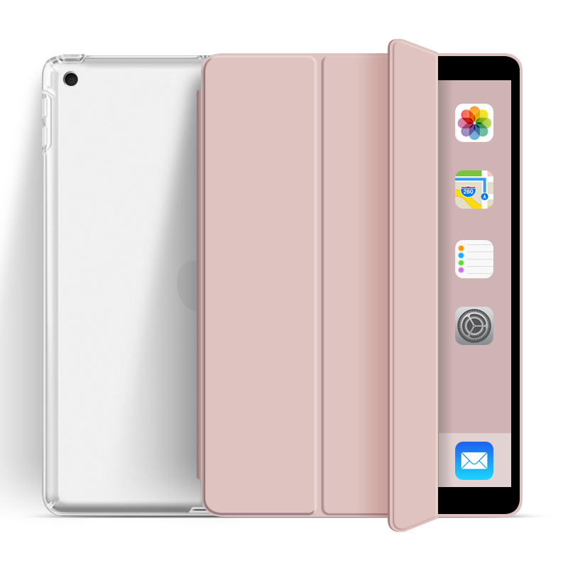 2020 New Design Transparent Back With Soft TPU Shell For iPad 10.2 2019 Or 2020