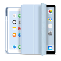 2020 New Soft TPU Back For ipad 10.2 2019 2020 Case with Pencil Holder