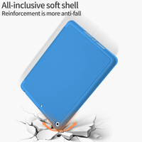 Surf Blue Tablet Case With Magnetic Wake Sleep Function For iPad Mini5