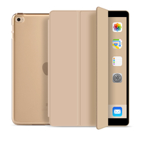 Fashion Tri-Fold Hard PC Shell Flat Protective Tablet Case for iPad Air 1
