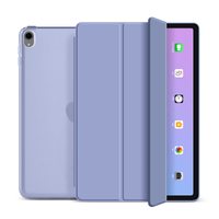 Trifold Hard PC Transparent Back Cover For iPad Air4 10.9