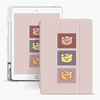Shockproof Leather Silicone Printed Pencil Holder Case for Apple iPad 10.2 7th 8th Generation