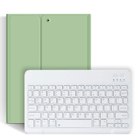 Bluetooth Keyboard With Pencil Holder Tablet Case Funda For iPad 10.2 2019