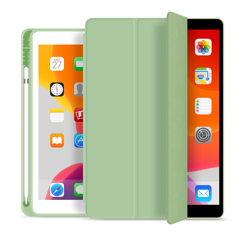 Fashionable Tri Fold Smart Case TPU Case For iPad Pro 9.7 2018