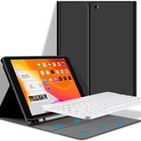Colorful Bluetooth Wireless Keyboard Case for iPad Pro 11 2020
